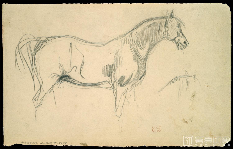 速写-德拉克罗瓦 Eugène Delacroix作品集-118