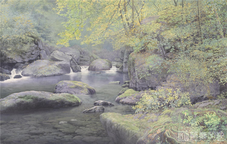 水彩画-黄有维水彩高清图集-森林-05