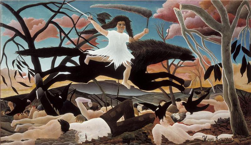 油画-亨利·朱利安·费利克斯·卢梭作品集