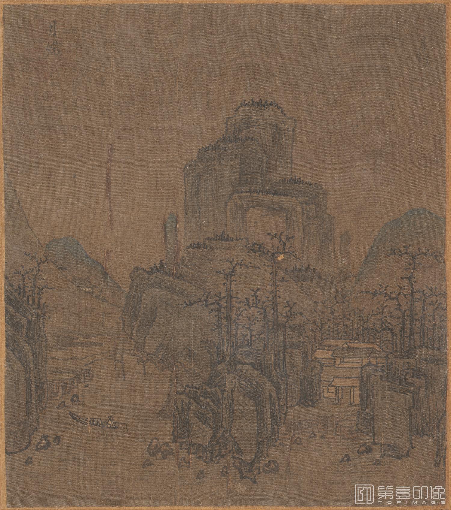 国画-国画-册页-纸本-绢本-013-69X38cmX13