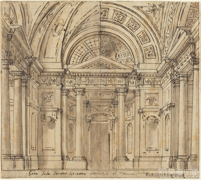 素描-美国华盛顿国立美术馆素描藏画-2742