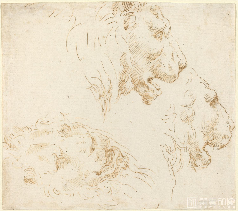 素描-美国华盛顿国立美术馆素描藏画-2864