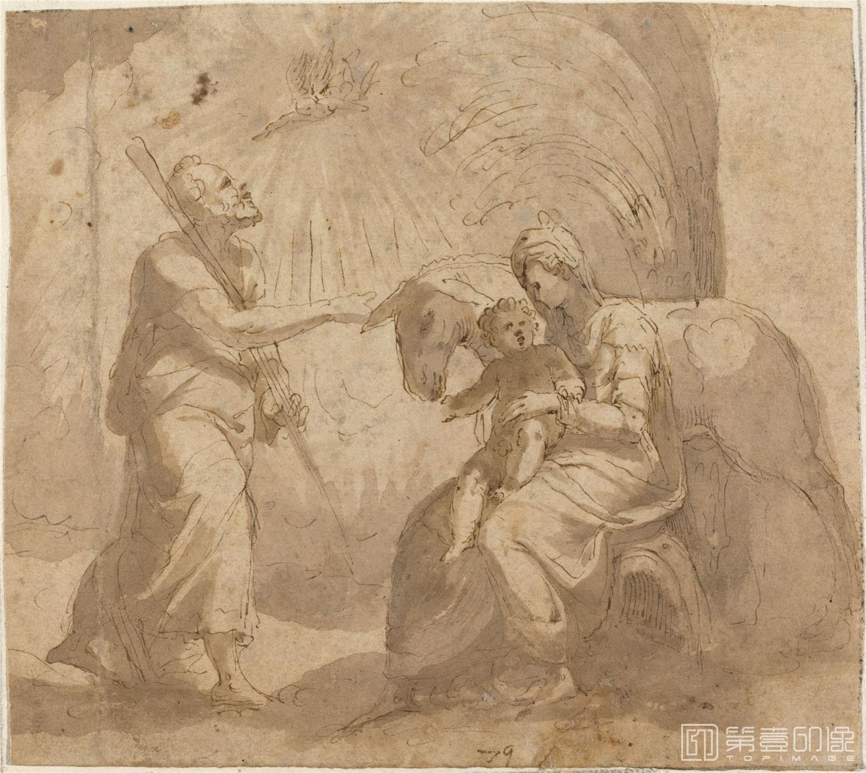 素描-美国华盛顿国立美术馆素描藏画-3027
