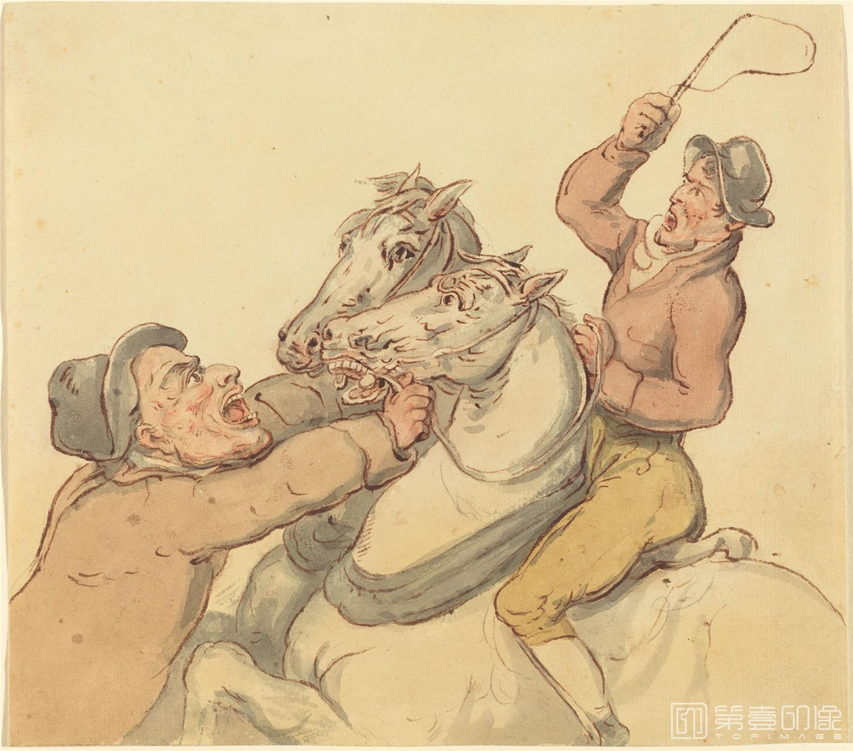 素描-美国华盛顿国立美术馆素描藏画-3318