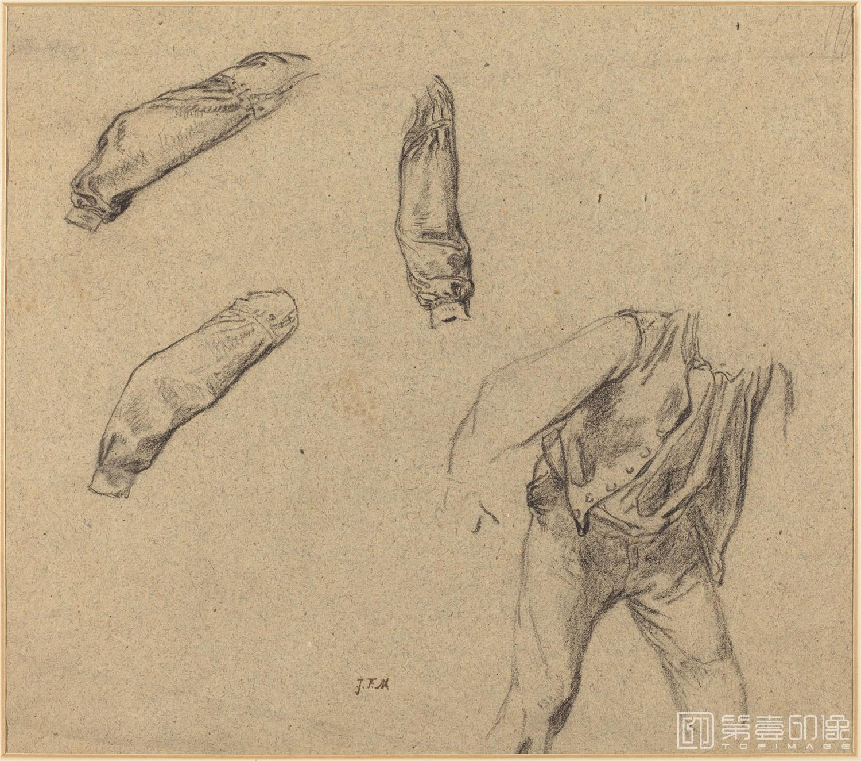 素描-美国华盛顿国立美术馆素描藏画-3335